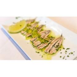 Filetti di Alici Marinate Confez da 250 gr