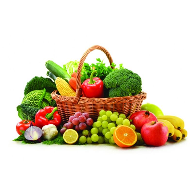 Cesta frutta e verdura di stagione 8 9 kg di prodotti - Immagine di frutta e verdura ...