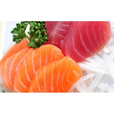 Sashimi 12 Pezzi con Gamberi