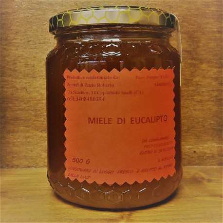 Miele di Sardegna Eucaliptus 500gr. Zumiel