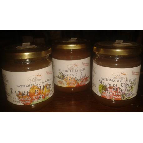 Marmellata Artigianale Pesche e Peperoncino
